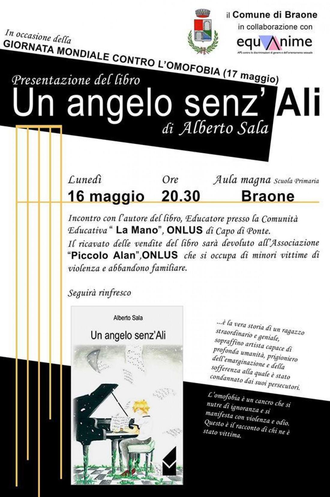Presentazione Alberto Sala: Un angelo sez'Ali