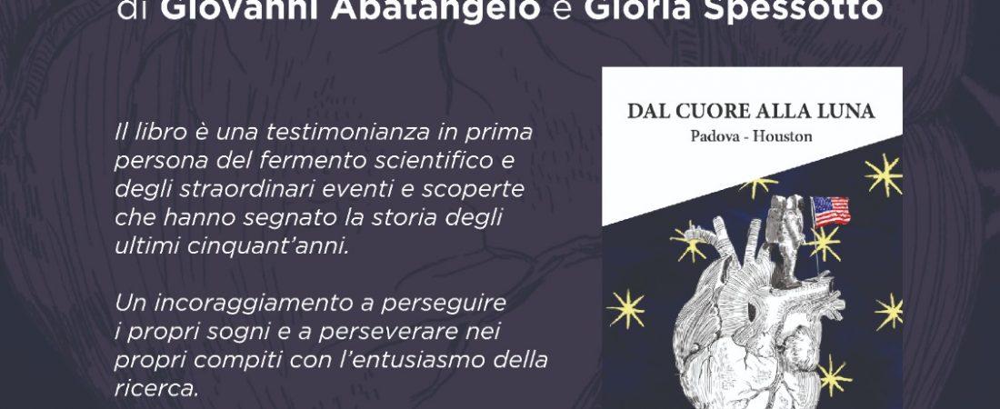 """Evento culturale: presentazione di """"Dal Cuore alla Luna"""" di Giovanni Abatangelo e Gloria Spessotto"""