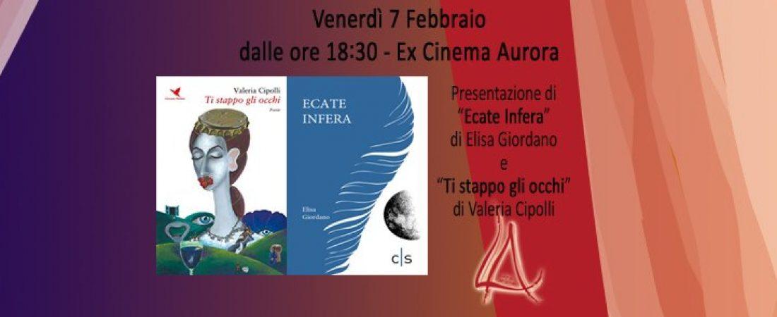 """Presentazione del libro """"Ecate infera"""" di Elisa Giordano"""