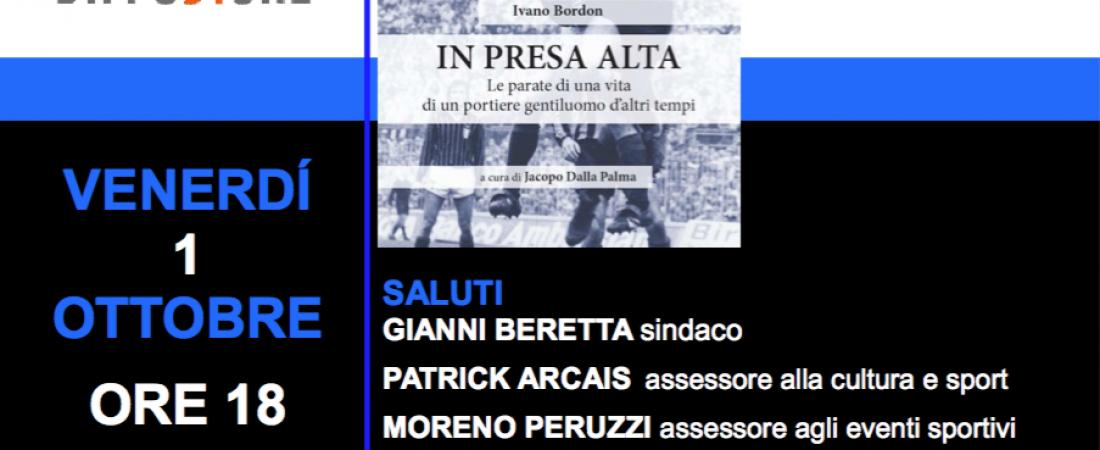 """Evento letterario: presentazione di """"In presa alta"""" di Ivano Bordon"""