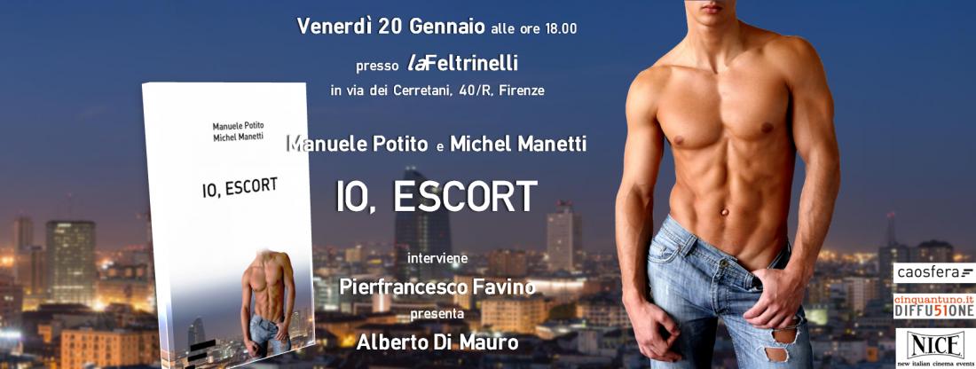 Venerdì 20 gennaio: presentazione Io, escort – Caosfera edizioni
