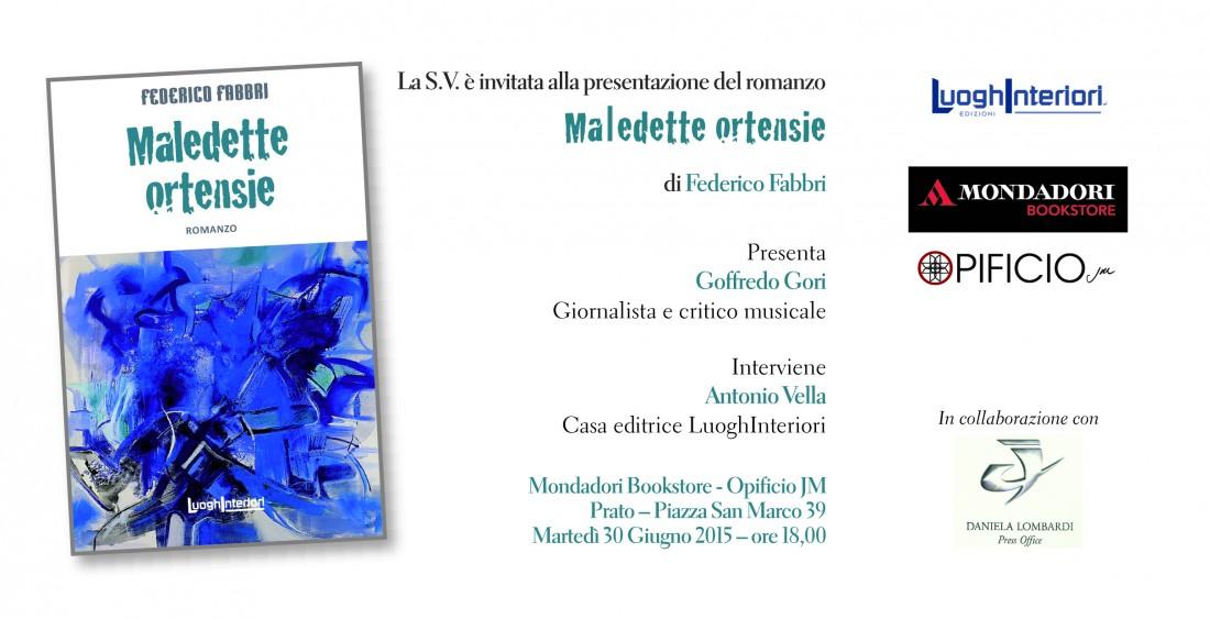 """""""Maledette ortensie"""" di Federico Fabbri"""