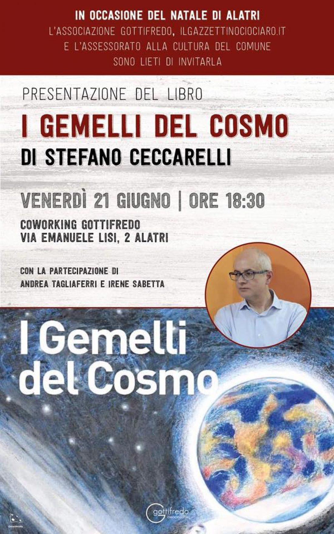 """Presentazione: """"I Gemelli del Cosmo"""" di Stefano Ceccarelli"""