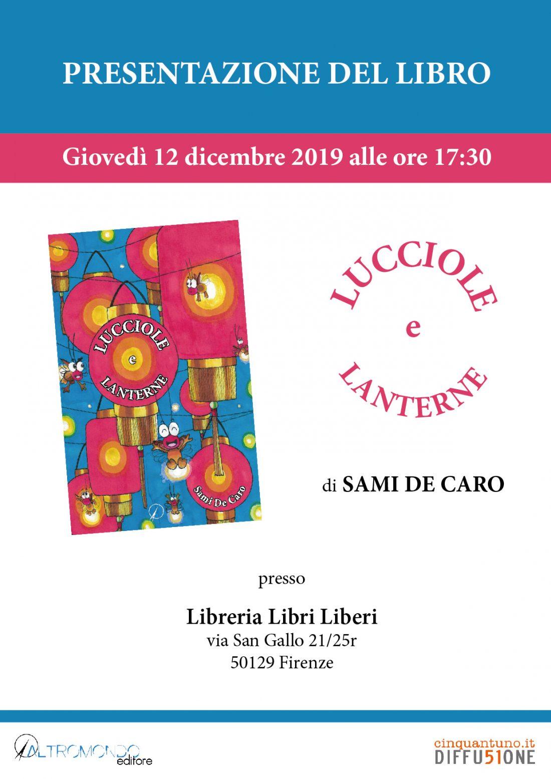 """Presentazione del libro """"Lucciole e lanterne"""""""