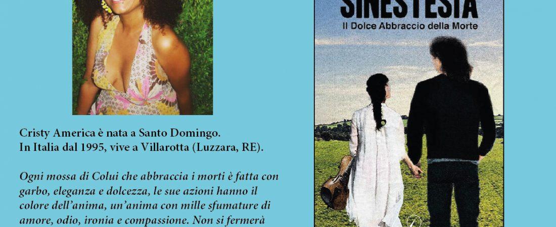 """Presentazione del libro """"Sinestesia"""" di Cristy America Ortiz Gomez"""