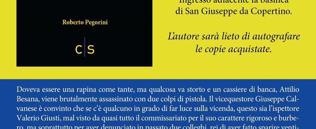 """Presentazione: """"Almeno non questa notte"""" di Roberto Pegorini"""