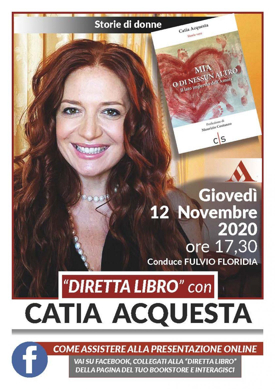 """""""Diretta libro"""" con Catia Acquesta"""