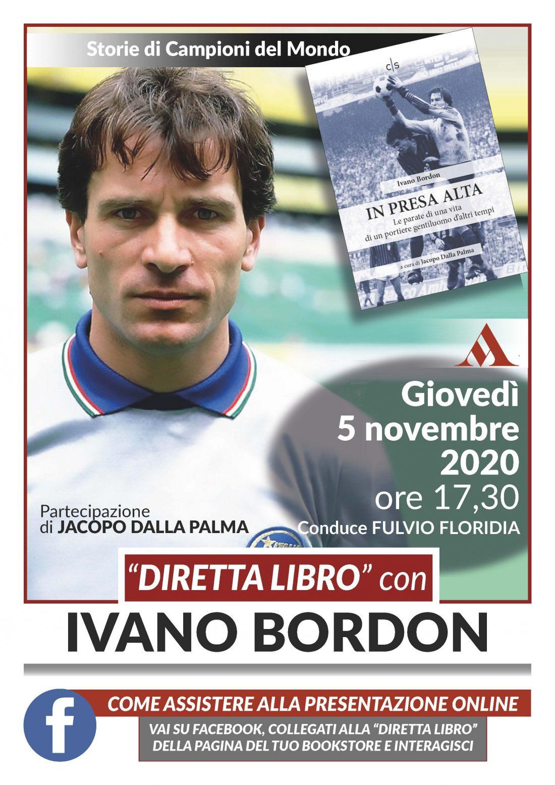 """""""Diretta libro"""" con Ivano Bordon e Jacopo Dalla Palma"""