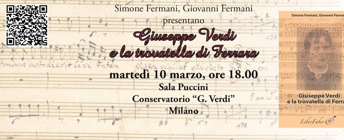 """Presentazione: """"Giuseppe Verdi e la trovatella di Ferrara"""""""