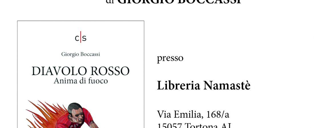 """Presentazione libro: """"Diavolo Rosso"""" di Giorgio Boccassi"""