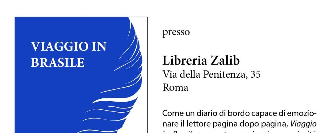 """Presentazione del libro: """"Viaggio in Brasile"""" di Antonio Fioriello"""