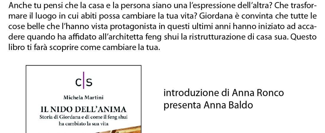 """Evento letterario: presentazione de """"Il nido dell'anima"""" di Michela Martini"""