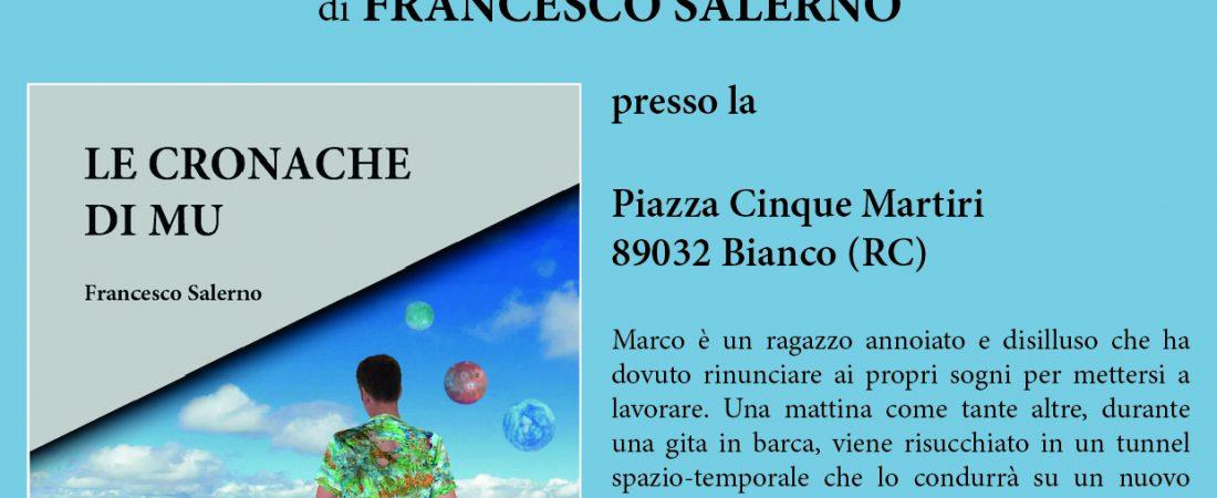 "Presentazione di ""Le cronache di Mu"" di Francesco Salerno"