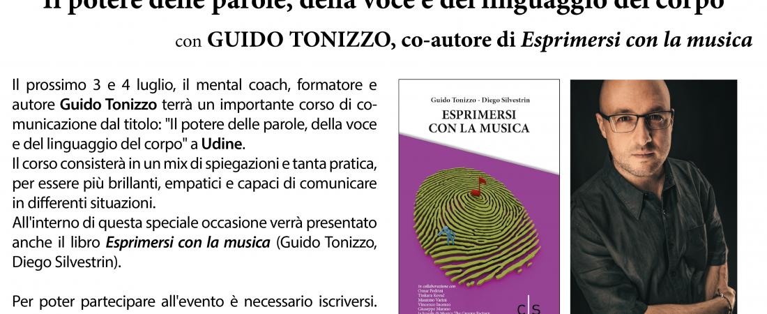 """Corso e presentazione del libro """"Esprimersi con la musica"""" di Guido Tonizzo e Diego Silvestrin"""