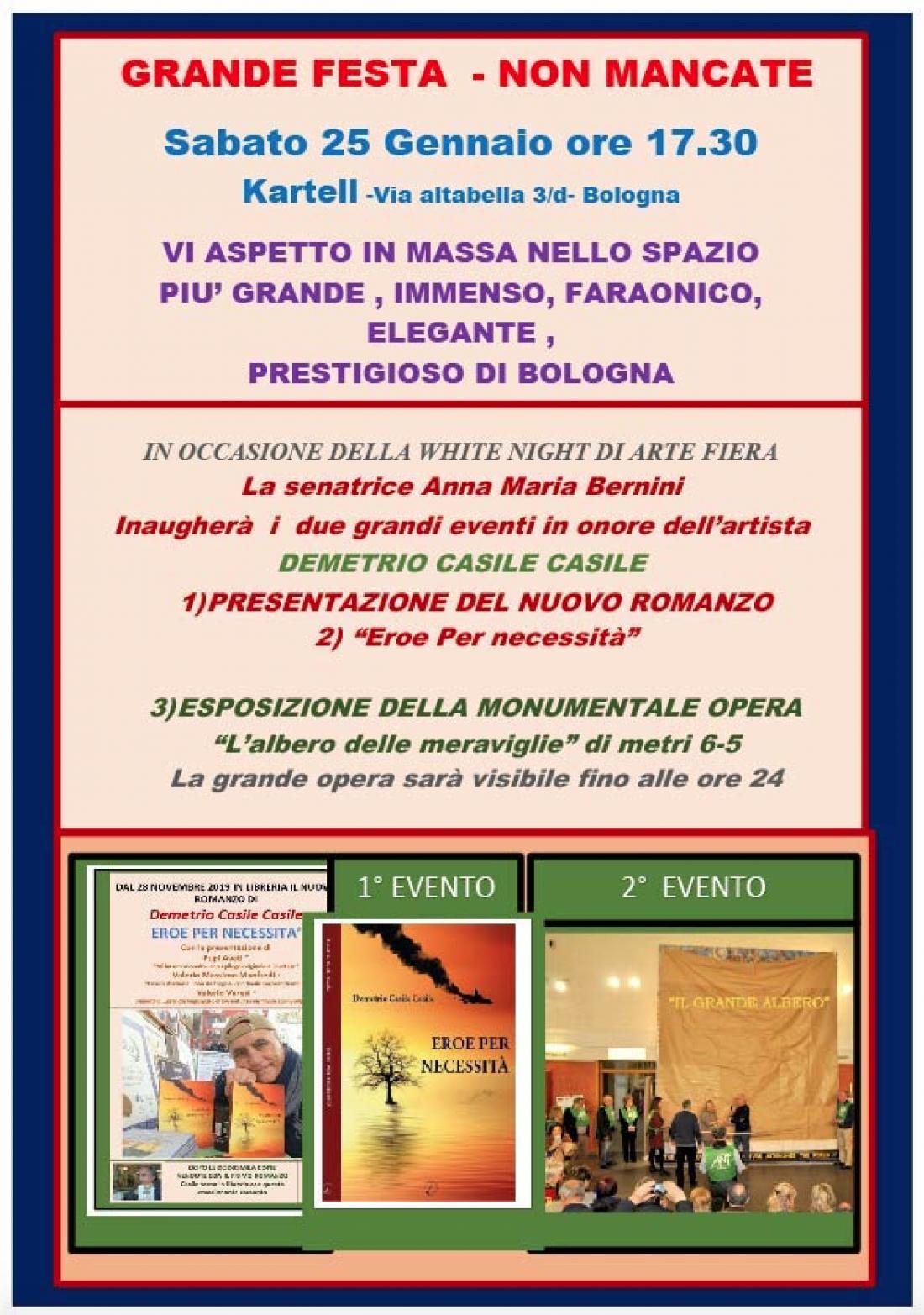 """Presentazione del libro """"Eroe per necessità"""" di Demetrio Casile Casile"""